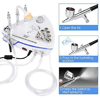 Diamond Microdermabrasion Dermabrasion Machine -vand Spray Eksfoliering Vacuum,