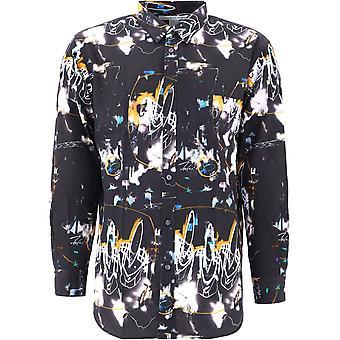 Comme Des Garçons Shirt W28043 Men's Zwart Katoenen Shirt