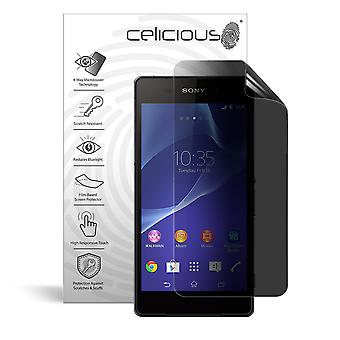 Celicious Privacy Plus 4-Way Anti-Spy Filter Screen Protector Film Compatible with Sony Xperia Z2