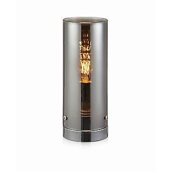 1 Lampada da tavolo interno leggera Chrome, E27