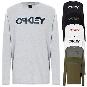 Oakley Mens 2021 Mark II LS Tee Crew Nek Regular Fit T-Shirt