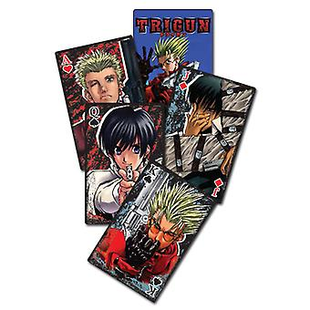 Playing Cards - Trigun - New Licensed ge51045