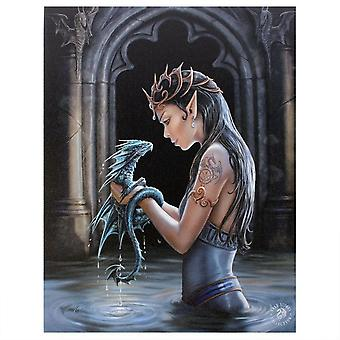 Anne Stokes Water Dragon Canvas