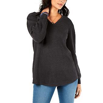 Stil og co | V-Hals Blouson Sweater