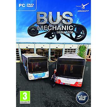 Bus Mechanic Simulator PC DVD Jeu