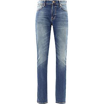 Nudie Jeans 113088indigo Men's Blue Cotton Jeans