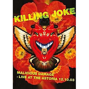 Daños maliciosos: Vive en la importación de Astoria 12.10.03 [DVD] USA