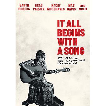 Det hele begynner med en sang: Historien om en Nashville [DVD] USA import