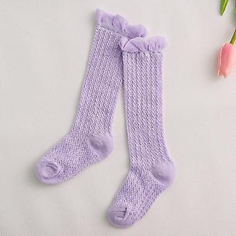 Baby Girl Socks 0-4 Year Toddler Thin Mesh Breathable Newborn Infant Boy Pure