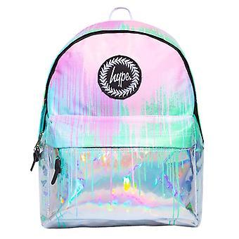 Hype Holo Drips Backpack Bag Multi 50