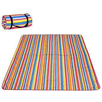 Thickened Waterproof Polyester Cotton Cloth Ultrasonic Outdoor Picnic Mat