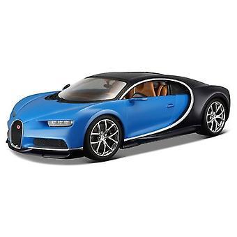 Maisto 1:24 Bugatti Chiron Blauw
