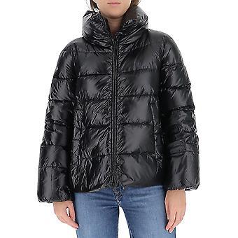 Aggiungi 2awe01s8506 Women's Black Nylon Down Jacket