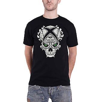 Xbox T Shirt Schädel Logo neue offizielle Gamer Herren Schwarz