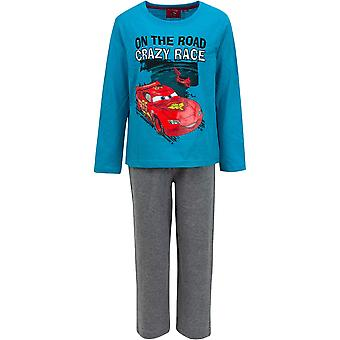 Disney boys cars long sleeve pyjama set