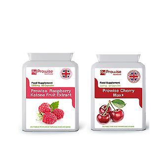 Raspberry Ketones + Montmorency Cherry | Suitable For Vegetarians & Vegans | Made In UK