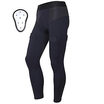 Compression Hockey Pants With Athletic Cup & Sock Tabs, Hockey Jock &
