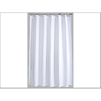 Home Label Waffle Shower Curtain White 95997