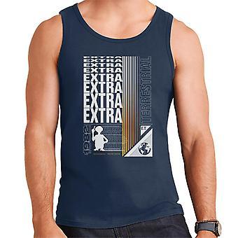 E.T. Extra Terrestre Espejo Texto Hombres's Chaleco