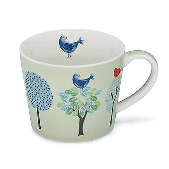Cook Smart Conical Mug Forest Birds 1853