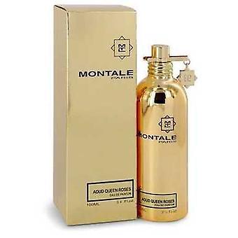 Montale Aoud Königin Rosen von Montale Eau De Parfum Spray (unisex) 3,4 Oz (Frauen) V728-544109