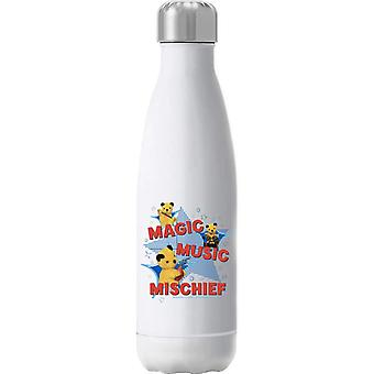 Sooty Magic Music Mischief Insulated Stainless Steel Water Bottle