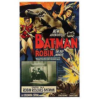 Batman et Robin Movie Poster (11 x 17)