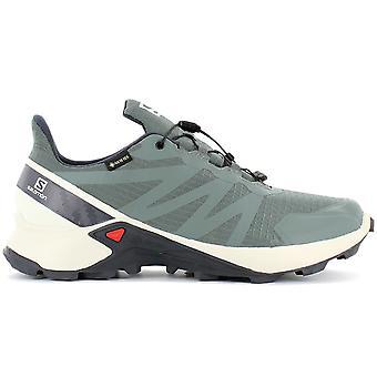 Salomon Supercross GTX - GORE-TEX - Men's Trail Running Shoes Green 409542 Sneakers Sports Shoes