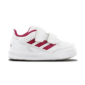 adidas Alta CF I - Chaussures Enfants Velcro Velcro blanc BA9515 Sneakers Chaussures de sport