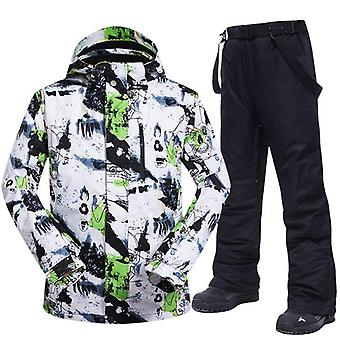 Ski Suit Men Winter Warm Windproof/waterproof Outdoor Sports Snow Jackets And