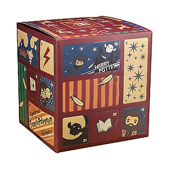 Paladone pp6239hp premium harry potter cube advent calendar 24 door 2019 | full of hogwarts gifts &