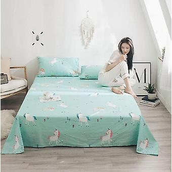 100 % Baumwolle weiche moderne flache Bettlaken - Nordic Bed Cover