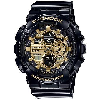 G-Shock GA-140GB-1A1ER Gold Tone Dial Multi-Function Wristwatch