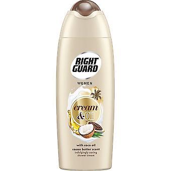 Right Guard Shower Cream - Cream & Oil