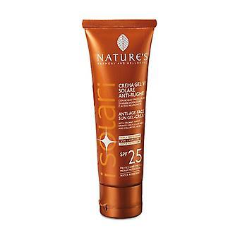 iSolari Anti-wrinkle sun cream gel SPF25 50 ml of cream
