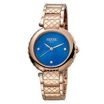 Ferre Milano FM1L099M0071 Women's MOP Dial Stainless Steel Watch