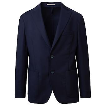 Eleventy B70giaa05ttet0b01011 Men's Blue Wool Blazer