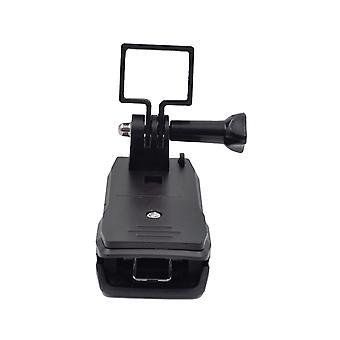 Handheld Portable Stand Rotation Hat Mount Backpack Clip Pocket Stand Backpack Holder