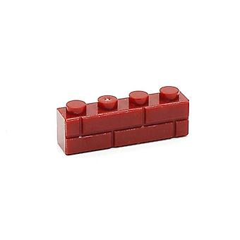 4 Dots Häuser Wandbausteine - Micro Cube Parts
