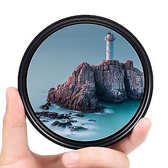 Fotover 55mm φίλτρο nd, λεπτό μεταβλητό φίλτρο ουδέτερης πυκνότητας nd διευθετήσιμο nd fader nd2-nd400 fi φακών
