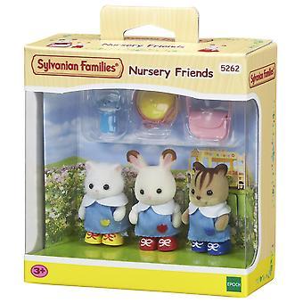 Sylvanian families 5262 kids' play animal figures, multicolor nursery friends