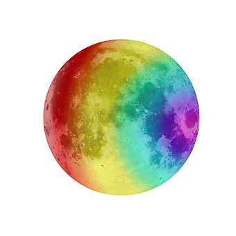 Homemiyn Color Moon Glowing Stickers Room Decoration Stickers Kids Room Decoration Wallpaper
