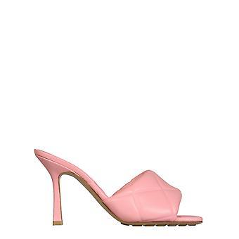 Bottega Veneta 639943vbp305657 Dames's Roze Lederen Sandalen