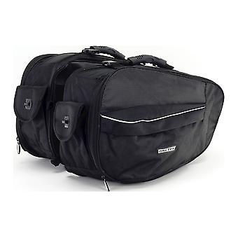 Biketek Urbano Fietstassen Soft Saddle Bags 24-38Ltr
