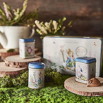 Beatrix potter tea tin gift set, teabags and loose-leaf