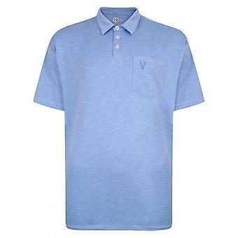 Carabou Cotton Slub Polo Shirt