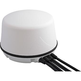 5 Port LTE, WiFi, GNSS, Round, Mag Mount Antenna