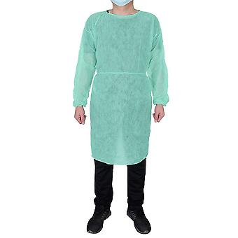 Disposable Protective, Isolation Clothing, Anti-spitting, Stain Nursing Gown,