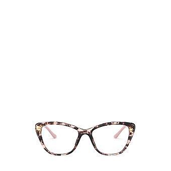 Prada PR 04WV pink havana female eyeglasses