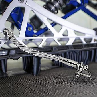 Teräs moottorikelkka jäänmurtaja jään raapijat käänteinen yhteensopiva sarja, vasen ja